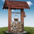 Stock Photo: Wishing well