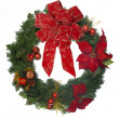 Christmas wreath - Stock Photo