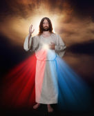 Divine Mercy Image — Stock Photo