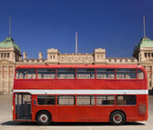 Red Double Decker Bus — Stock Photo