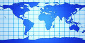 Mapa 3d de la tierra — Foto de Stock