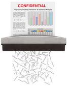 Paper Shredder — Stock Photo