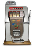 Vintage Slot Machine — Stock Photo