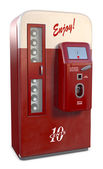 Vintage Soda Machine — Stock Photo