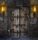 Spooky Door — Stock Photo