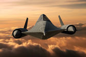 SR-71 Black Bird — Stock Photo
