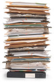 Stapel von dokumenten — Stockfoto