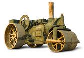 Vintage Steam Roller — Stock Photo