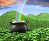 End of the Rainbow — Stock Photo