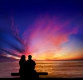 Sunset Cliffs Romance — Stock Photo
