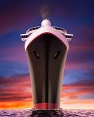 Cruise ship bow — Stock Photo