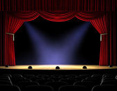 Curtain Up — Stock Photo
