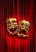 Comedy Tragedy — Stock Photo