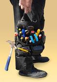 Werkzeugtasche — Stockfoto