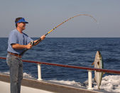 Deep Sea Fishing — Stock Photo