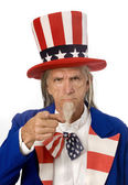 Uncle Sam Wants YOU! — Stock Photo