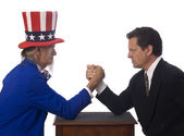 Governmental Opposition — Stock Photo