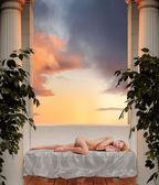 Uyuyan tanrıça — Stok fotoğraf