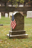 Soldier's grave — Stock Photo