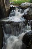 Waterfall vertical — Stock Photo