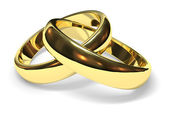 Wedding rings — Stock Photo