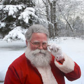 Winter Santa — Foto de Stock
