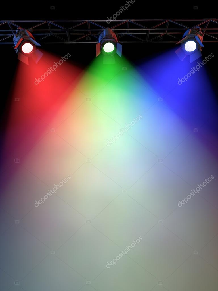 Stage Lights — Stock Photo © jamesgroup #13453498