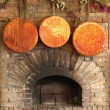Country hearth — Stock Photo
