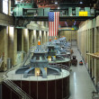 Hydroelectric Turbines - Stock Photo