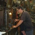 Industrial Metal Worker — Stock Photo