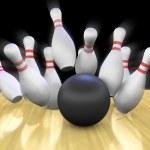 Постер, плакат: Bowling Strike