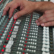 Mixing audio tracks — Stock Photo