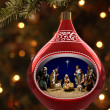 Nativity Ornament — Stock Photo