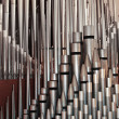 Pipe organ pipes - Stockfoto