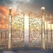 Pearly Gates - Stock Photo