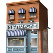 Stock Photo: Drug Store