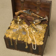 Open Treasure Chest - Zdjęcie stockowe