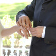 Placing ring — Stock Photo #13472039