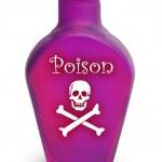 Poison on White — Stock Photo