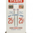 Postage Stamp Machine - Stock Photo