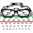 Prescription Glasses — Foto de Stock
