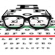 Prescription Glasses - 图库照片