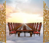 Heavenly Banquet — Stock Photo