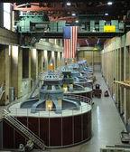 Hydroelectric Turbines — Stock Photo