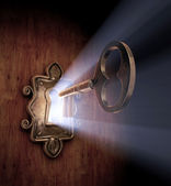 Unlocking Dreams — Stock Photo