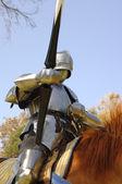 Lance ile knight — Stok fotoğraf