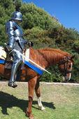 Atlı şövalye — Stok fotoğraf