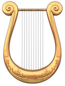 Stringed lyre — Photo