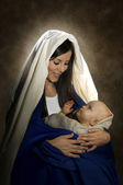 Mary & Jesus — Stockfoto