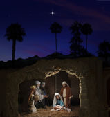 Jul nativitet — Stockfoto